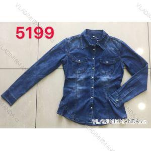 Košile riflová dámská (xs-2xl) GOURD MA119RE-5199