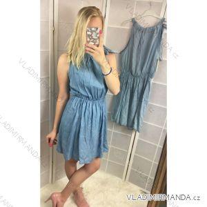 Šaty bez rukávů  dámské (uni s-l) ITALSKá MODA IMC182153