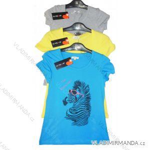 Tričko krátký rukáv dámské (m-xxl) LA MIU W2004