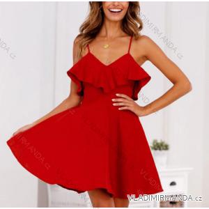 Šaty letní na ramínka dámské (s-xl) AFASHION AF19089