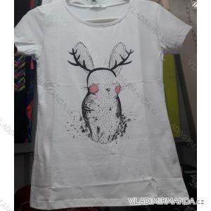Tričko krátký rukáv dámské (s-xl) TURECKÁ MÓDA TM919036