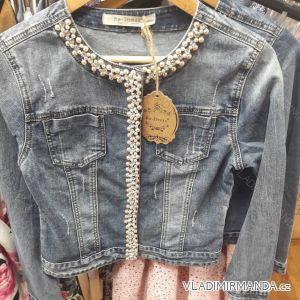 Bunda riflová krátká dámská perličky (xs-xl) Re-dress IM919C061
