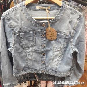 Bunda riflová krátká dámská (m-3xl) Re-dress IM919C016-1