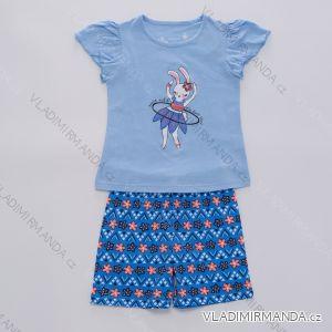 Pyžamo krátké letní dětské dívčí (98-128) WOLF S2964
