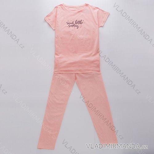 Pyžamo dlouhý rukáv a nohavice dámské (s-2xl) WOLF D2943