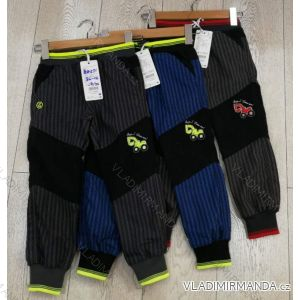 Kalhoty manžestr outdoor bavlněné dětské chlapecké (86-116) GRACE GRA1984271