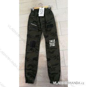 Kalhoty dorostenecké chlapecké maskáč (134-164) GRACE GRA1981321