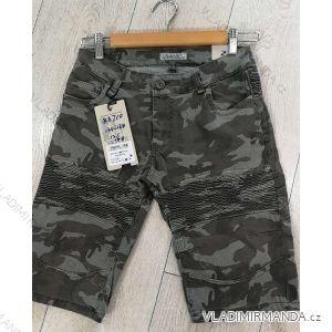 Kalhoty 3/4 dorost chlapecké maskáč (134-164) GRACE GRA1983710