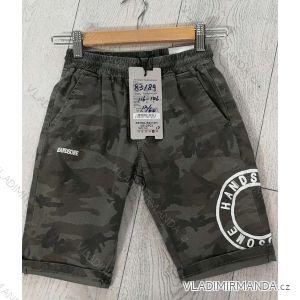 Kalhoty 3/4 dorost chlapecké maskáč (116-146) GRACE GRA1983189