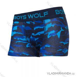 Boxerky dětské chlapecké (98/104-122/128) WOLF L2981