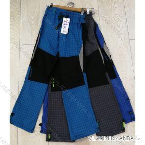 Kalhoty manžestr bavlněné outdoor dětské dorost chlapecké a dívčí (116-146) GRACE GRA1970600