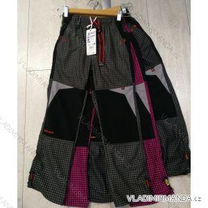 Kalhoty manšestr bavlněné outdoor dětské dorost (116-146) GRACE GRA1981307
