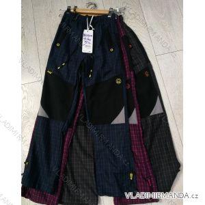 Kalhoty manšestr bavlněné outdoor dětské dorost (116-146) GRACE GRA19DL81308