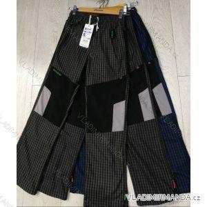 Kalhoty manšestr bavlněné outdoor dětské dorost chlapecké  (134-164) GRACE GRA1981303
