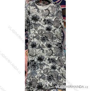 Šaty dámské krátký rukáv (M-3XL) POLSKÁ MÓDA PM119127