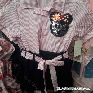 Šaty letní krátký rukáv dětské dorost (4-14 let) ITALSKÁ MÓDA TM219020
