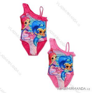 Plavky jednodílné dětské dívčí (98-128) SHIMMER AND SHINE SETINO 910-600