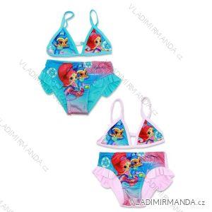 Plavky dvoudílné bikini dětské dívčí (98-128) SHIMMER AND SHINE SETINO 910-607