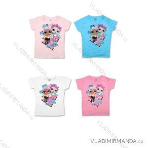 Tričko krátký rukáv LOL dětské dívčí bavlněné (116-152) SETINO 1922-9008_B