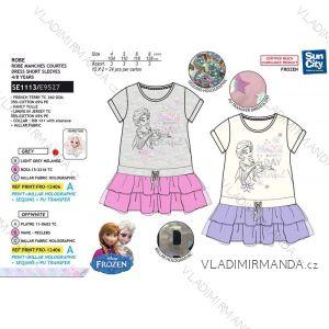 Šaty letní frozen ledové království dětské dívčí (4-8 let) SUN CITY SE1113