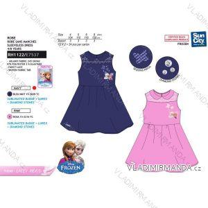 Šaty letní frozen ledové království dětské dívčí (4-8 let) SUN CITY RH1122