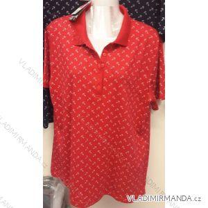 Tričko s límečkem krátký rukáv dámské (l-4xl) BATY BAT19PDK-TT-BE
