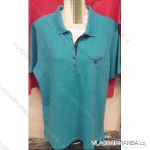 Tričko s límečkem krátký rukáv dámské (l-4xl) BATY BAT19PCSNU-BE-CUC