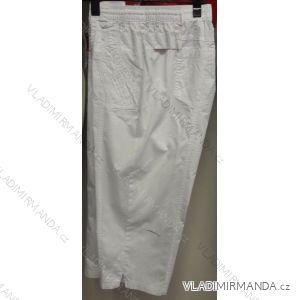 Kalhoty 3/4 krátké plátěné dámské nadrozměrné (l-4xl) BATY BAT19QNU-3/4-GAU-VAT