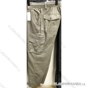Kalhoty pánské nadrozměrné (l-4xl) BATYBAT19QNAM-KAKI-TUI-KHOA