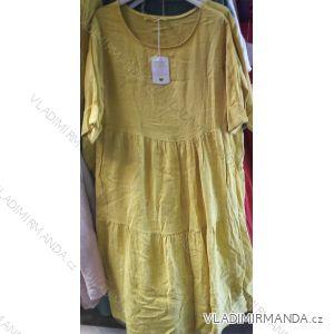 Šaty krátký rukáv letní dámské (uni l/xl) ITALSKá MóDA IM519391955