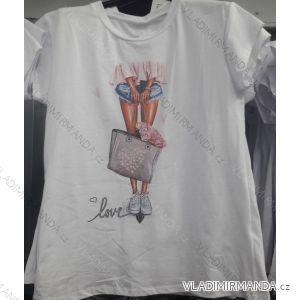 Tričko krátký rukáv dámské LOVE (uni s/m) ITALSKá MóDA IMC19670
