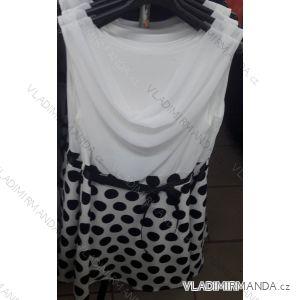 Šaty bez rukávů dámské (uni s/m) ITALSKá MóDA IM319145