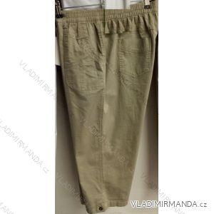 Kalhoty 3/4 slabé dámské nadrozměrné (l-4xl) BATY BAT19QNU-3/4-SP-GAN-MAX