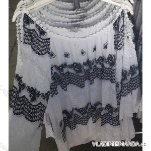 Košile tunika dlouhý rukáv dámská (uni m/l) ITALSKá MóDA IM719185