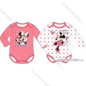 Body dlouhý rukáv minnie mouse kojenecké dívčí bavlněné (3-24 měsíců) EPLUSM DIS MF 51 01 1162/1164 SINGLE