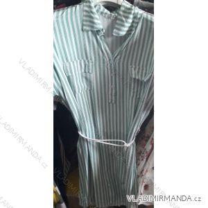 Šaty košilové letní dámské proužek (uni s/m) ITALSKá MóDA IM919320
