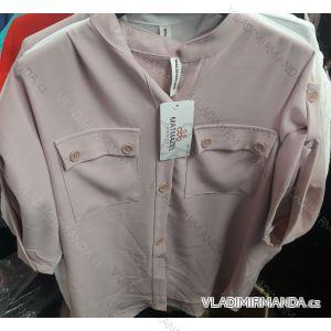 Halenka / košile 3/4 dlouhý rukáv dámská (uni m/l) ITALSKá MóDA IM919321