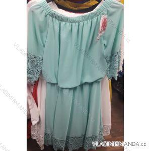 Šaty letní s odhalenými rameny krátké dámské (uni s/m) ITALSKá MODA IM919329
