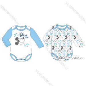 Body dlouhý rukáv mickey mouse kojenecké chlapecké (3-24) EPLUSM DIS BMB 51 01 1203 SINGLE