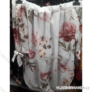 Šaty letní s odhalenými rameny krátké dámské květy (uni s/m) ITALSKá MODA IM919561