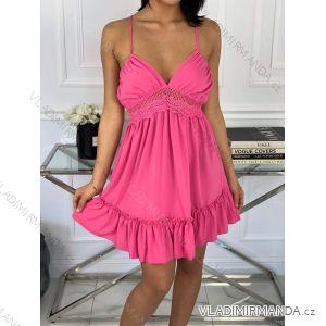 Šaty letní na ramínka (uni s/m) ITALSKá MóDA IM919562