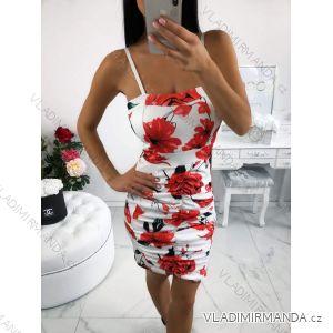 Šaty bez rukávů letní dámské (uni s/m ITALSKá MóDA IM2197621