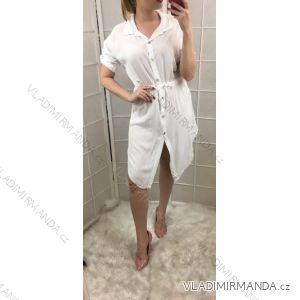 Šaty letní košilové dámské (uni s/m) ITALSKÁ MODA IM719174