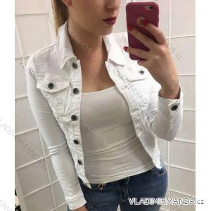 Bunda riflová jeans dámská (S-2xl) Jeaniful MA519G198-1