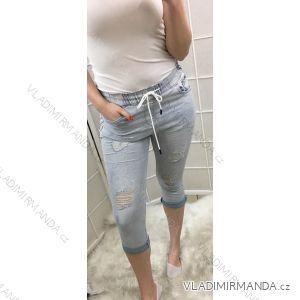 Rifle jeans kalhoty 3/4 dámské (xs-xl) Place de jour MA1191710
