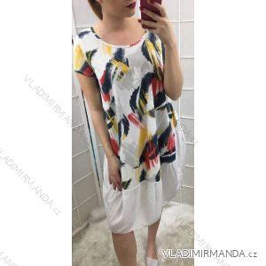 Šaty krátký rukáv letní dámské (uni m/l) ITALSKá MóDA IM519215