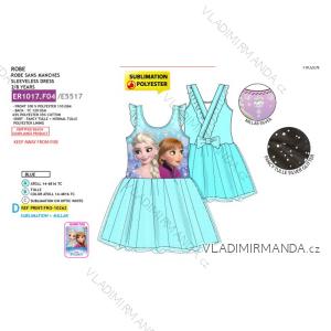 Šaty letní frozen ledové království dětské dívčí (2-8 let) SUN CITY ER1017.F04