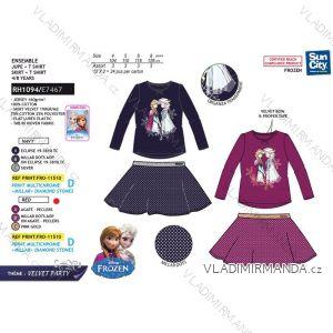 Souprava tričko a sukně frozen dětská dívčí (4-8 let) SUN CITY RH1094
