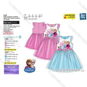 Šaty letní frozen ledové království dětské dívčí (4-8 let) SUN CITY HQ1164