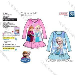 Noční košile frozen ledové království dětské dívčí (4-8 let) SUN CITY RH2069